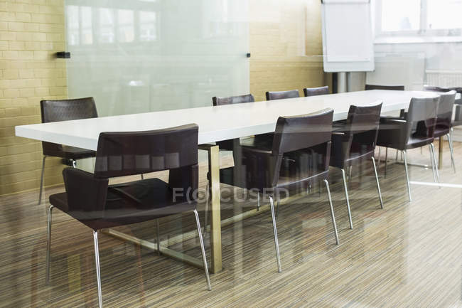 Empty conference room in modern office — Stock Photo