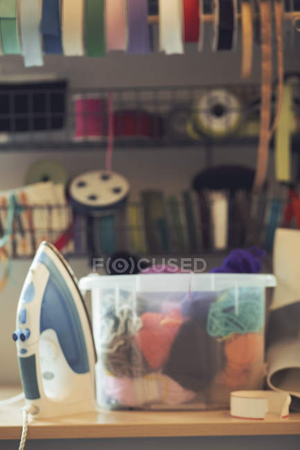 Art and craft product at workshop — Stock Photo