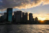 Australia, Sydney, skyline con grattacieli moderni — Foto stock
