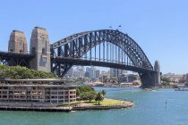 Vista panoramica di Harbour Bridge, Sydney, Australia — Foto stock