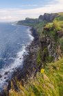 United Kingdom, Scotland, Highland, Isle of Skye, On the Kilt Rock, Kilt Rock — Stock Photo