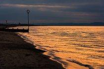 Сполучене Королівство, Шотландії, Единбург, пляжі Портобелло невелике місто на заході барвисті — стокове фото