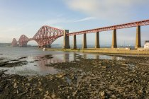 Vereinigtes Königreich, Schottland, edinburgh, south queensferry, forthbridge, south queensferry, north queensferry — Stockfoto