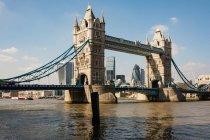 Regno Unito, Inghilterra, Londra, Tower Bridge a Londra — Foto stock