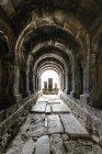 Armênia, província de Lori, Alaverdi, Sanahin, mosteiro de Sanahin no norte da Armênia, Patrimônio Cultural Mundial da UNESCO — Fotografia de Stock