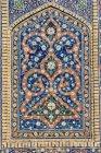 Узбекистан, Бухара провінції, Бухара, мозаїка Poi калон — стокове фото