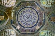 Узбекистан, провінція Самарканд, прикраси з собор — стокове фото