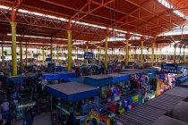 High angle view of city Arequipa Market, Arequipa, Peru — Stock Photo
