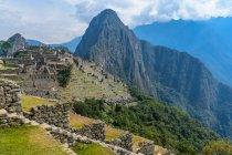 Peru, Cusco, Urubamba, Machupicchu ist ein UNESCO-Weltkulturerbe — Stockfoto