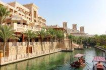 United Arab Emirates, Dubai, Madinat Jumeirah, Hotel — Stock Photo