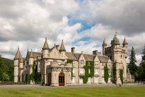Сцени замку Балмораль в Абердинширі, Шотландія, Велика Британія. — стокове фото