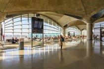 Jordânia, Amã, Amã, interior do Aeroporto de Amã — Fotografia de Stock