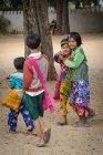 Myanmar (Burma), Mandalay Region, Taungtha, Taung Ba, Provinz Mandalay, Taung Ba Grundschule — Stockfoto