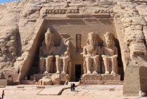 Єгипет, Асуан Gouvernement, Абу-Сімбел, всесвітньої культурної спадщини ЮНЕСКО — стокове фото