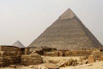 Єгипет, Гіза Gouvernement, Гіза, піраміди Гізи — стокове фото