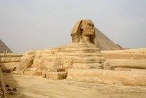 Єгипет, Гіза Gouvernement, Гіза, піраміди Гізи, Всесвітньої спадщини ЮНЕСКО — стокове фото