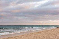 Spain, Canary Islands, Fuerteventura, Overcast over the sea on the Spanish island of Fuerteventura — Stock Photo