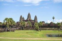 Kambodscha, Provinz Siem Reap, Krong Siem Reap, Blick auf Angkor Wat — Stockfoto