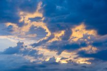 New Zealand, Hawke's Bay, Napier, Evening Clouds — Stock Photo