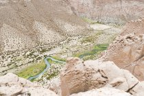 Bolivia, Departamento de Potosi, Nor Lopez, Anaconda Canyon view from above — Stock Photo