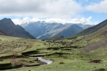 Peru, Qosqo, Cusco, Nature at Rainbow Mountain — Stock Photo