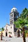 Mexico, Baja California Sur, Cabo San Lucas church view — Stock Photo