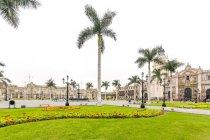 Peru, Provincia de Lima, Cercado de Lima, exploration walk in Lima city — Stock Photo
