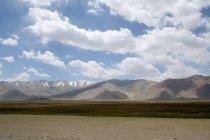 Живописные горы Таджикистана, Памир плато, просмотр — стоковое фото