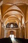 Dentro de Catedral de la Purisima Concepcion, Plaza de Armas, Cienfuegos, Cuba — Fotografia de Stock