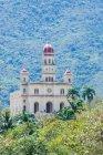 Cuba, Santiago de Cuba, El Cobre, Basilica, Basilica del Cobre, outside Santiago de Cuba — стоковое фото