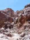 Chile, Region de Antofagasta, El Loa, Valle de la Luna, rocks — Stock Photo