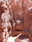 Chile, Region de Antofagasta, El Loa, Valle de la Luna, rocks of canyon — Stock Photo