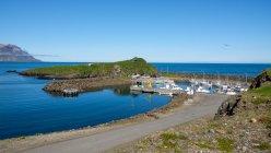 Ісландія, Borgarfjararhreppur, порт Borgarfjordur — стокове фото