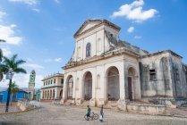 Куба, Санкти-Спиритус, Тринидад, Церковь Церковь Святой Троицы — стоковое фото