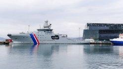 Исландия, Корабли в порту Рейкавик — стоковое фото