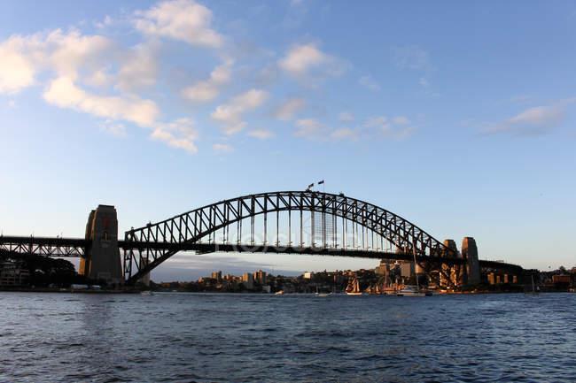 Scenic view of Harbor Bridge, Sydney, Australia — Stock Photo
