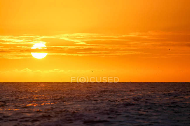 New Zealand, South Island, Canterbury, South Bay, Kaikoura, Sunrise — Stock Photo