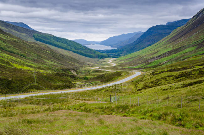 United Kingdom, Scotland, Highland, Achnasheen — Stock Photo