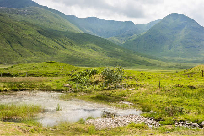 United Kingdom, Scotland, Highland, Inverness, En route Highland at Inverness — Stock Photo