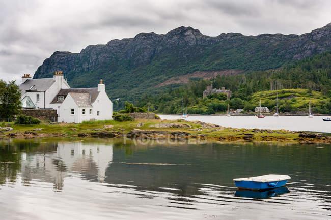 United Kingdom, Scotland, Highland, Plockton, Plockton, settlement in Highlands — Stock Photo