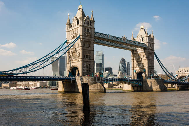 Royaume-Uni, Angleterre, Londres, Tower Bridge à Londres — Photo de stock
