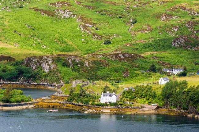 Vereinigtes Königreich, Schottland, Hochland, Strathcarron, Loch Carron — Stockfoto