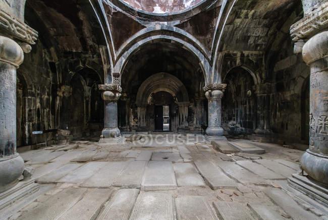 Вірменія, Лорі, Алаверди, Sanahin, на північному заході Вірменії, всесвітньої культурної спадщини ЮНЕСКО монастир Санаїн — стокове фото