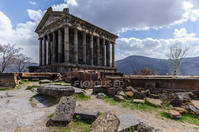 Arménie, Province de Kotayk, temple de Garni — Photo de stock