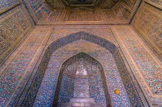 Uzbekistán, provincia de Corasmia, Xiva, vista interior Oasenstadt Chiwa - foto de stock