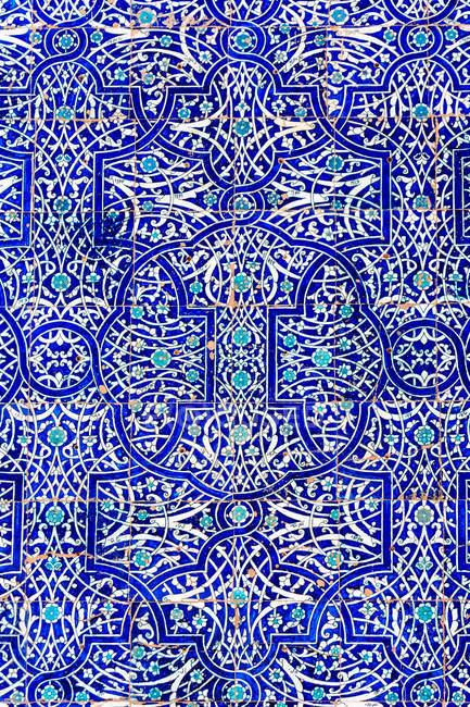 Usbekistan, Provinz Xorazm, Xiva, Ornamente an der Oase Stadt bereits, UNESCO-Weltkulturerbe — Stockfoto