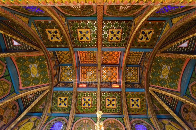 Usbekistan, Provinz Buchara, Buchara, Sommerpalast sitorei — Stockfoto