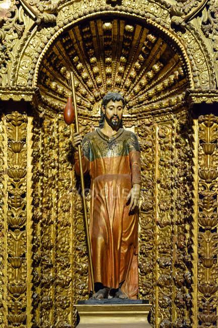Arequipa, Peru Kultstätte, Jesus Christus-Skulptur — Stockfoto