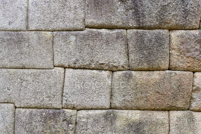 Peru, Cusco, Urubamba, Machu Picchu facade, UNESCO world heritage site — Stock Photo