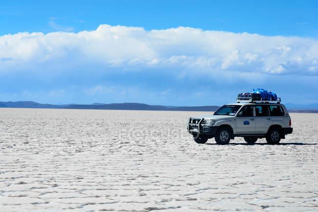 Bolivien, Abteilung Potosi, Uyuni, Reisen Sie durch die Salar de Uyuni — Stockfoto
